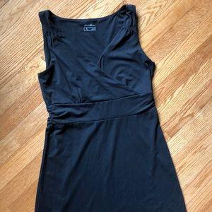 V-neck casual summer dress